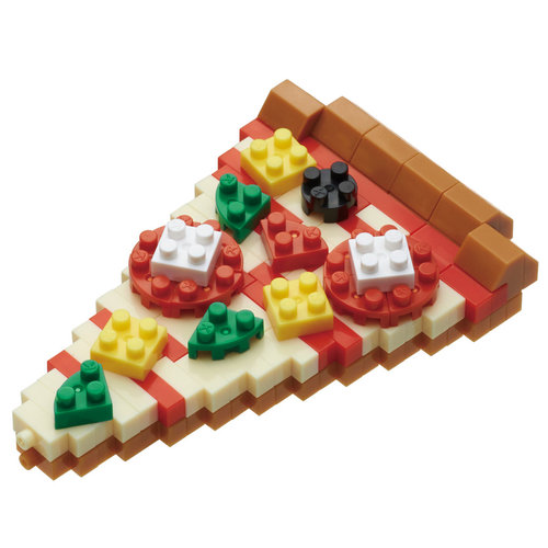nanoblock NBC-245 Pizza