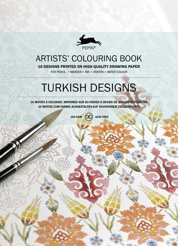 Colouring Book Turkish Designs