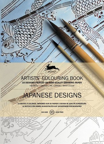 Colouring Book Japanese Designs